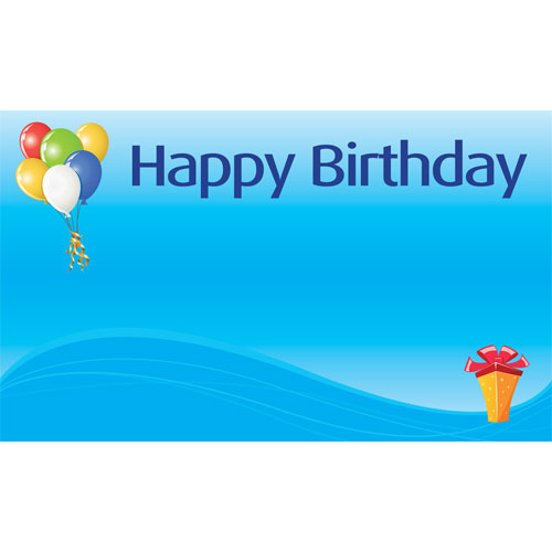 personalised birthday party banners 2 desig our birthday party banners ...