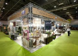 Akula Living - Large Exhibition Stand Hire