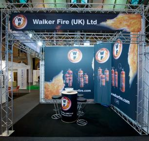 Walker Fire - Small Exhibition Stand Hire