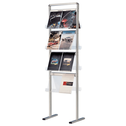 Exhibition Literature Stand : Literature stands leaflet holders brochure racks display wizard