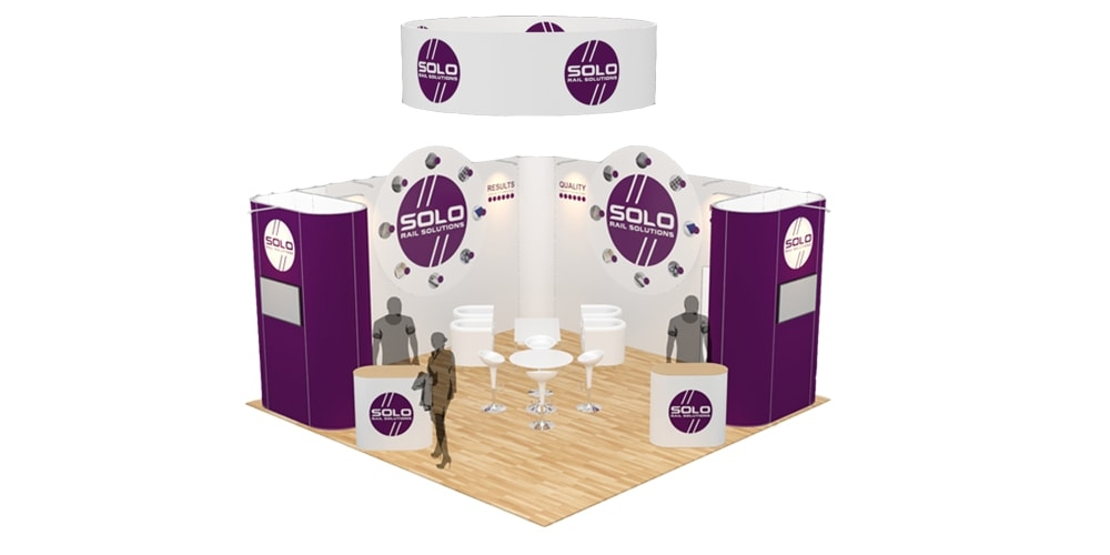 Exhibition Stand Hire Manchester : Exhibition stand design & build free 3d visual display wizard hire