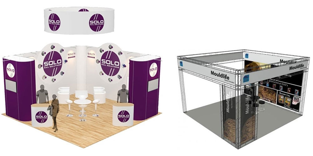 Small Modular Exhibition Stands : Exhibition stands the uk s no supplier display wizard
