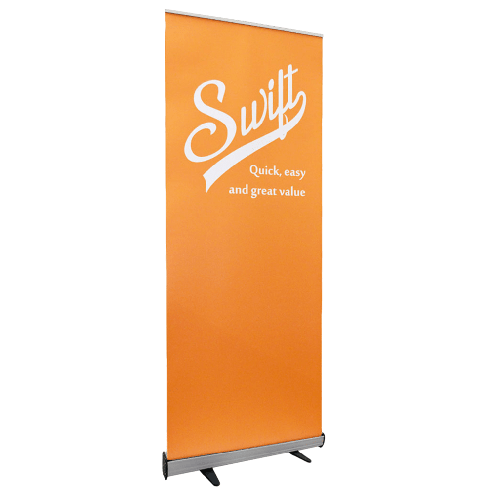 banner stands pop up banners buy 2 for 60 display wizard. Black Bedroom Furniture Sets. Home Design Ideas