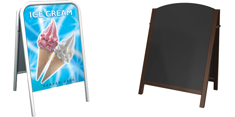 Pavement Signs | Outdoor Advertising Boards | Display Wizard
