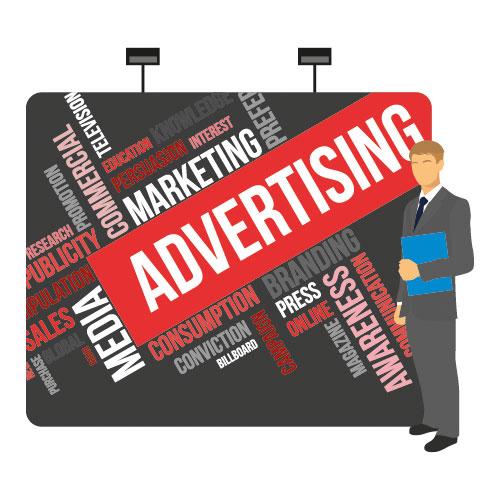 Advertising Agency Displays