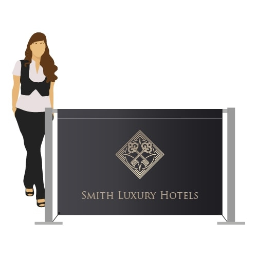 Hospitality Industry Display Stands