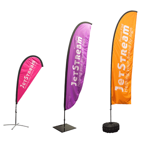 Promotional Event Flags