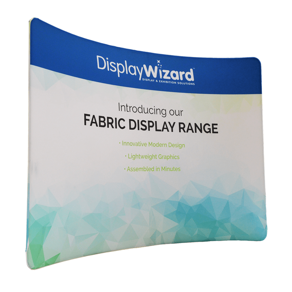 Fabric Pop Up Exhibition Stands : Pop up stands exhibition displays display wizard