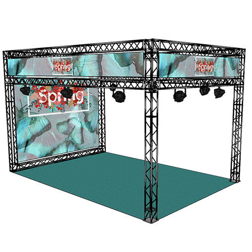 Gantry Exhibition System Hire Kits