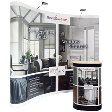 Pop Up Displays & Stands