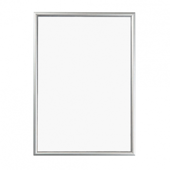 Poster Snap Frames 15mm Profile with Mitred Corners - Silver
