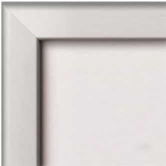 Poster Grip Frames 32mm Profile with Mitred Corners - Silver