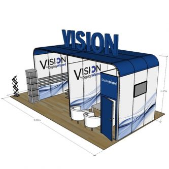 Vision System 8 - 5m x 9m - Angled View
