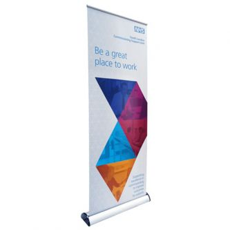 Swift Premium Roll Up Banner Stand - Front