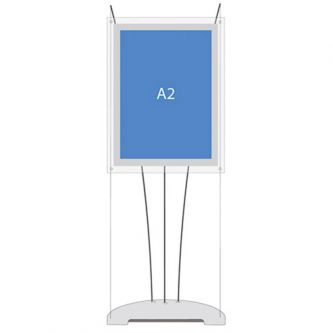 D3 Display Cable Lightbox - A2 Portrait (Stand Only)