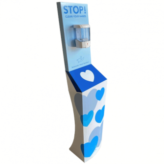 Freestanding Automatic Sanitiser Station