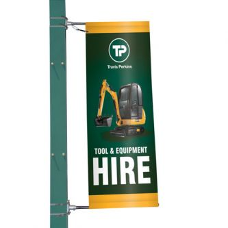 Mistral Lamp Post Banner Display - Single