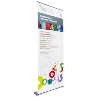 Luxe Roller Banner Stands - Front (800mm shown)