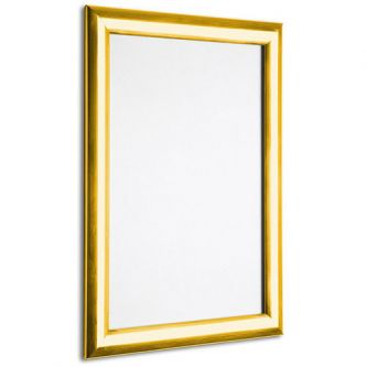 Poster Snap Frames 25mm Profile - Mitred Corners - Polished Gold
