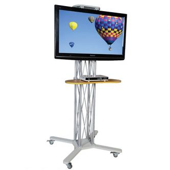 """50"""" AV Stand with monitor (not included)"""