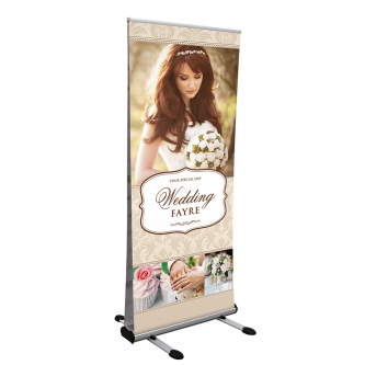 Tempest Outdoor Roller Banner Stand