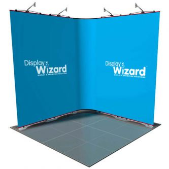 Twist - Modular Display Stands - Kit 1 - 2m x 2m - with No End Caps