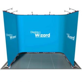 Twist - Modular Display Stands - 3m x 2m - Kit 3 - with No End Caps
