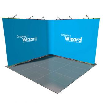 Twist - Modular Display Stands - 3m x 3m - Kit 4 - No End Caps