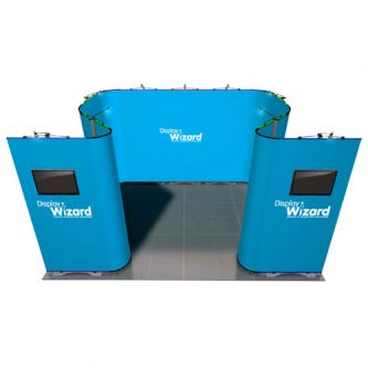 Twist - Modular Display Stands - 4m x 3m - Kit 12