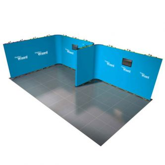 Twist - Modular Display Stands - 7m x 4m - Kit 26