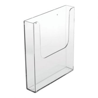 Wall Mounted Leaflet Dispenser