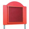 Red Frame / Red Felt