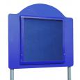 Blue Frame / Blue Felt