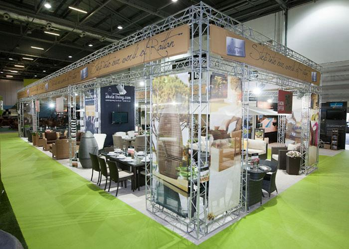 Simple Exhibition Stand Hire : Akula living exhibition stand case study