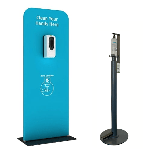 Hand Sanitiser Dispensers & Stations