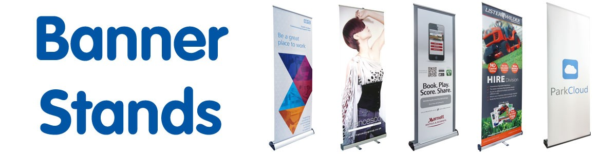 Banner stands for marketing