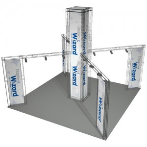 Exhibition gantry system guide