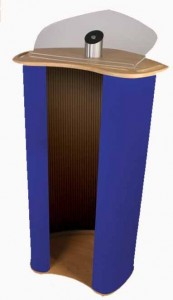 Portable lecterns guide