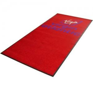 Printed Floor mat guide