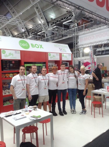 Experienced exhibition stand team
