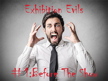 Exhibition and trade show mistakes