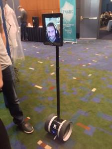 Telepresence robot