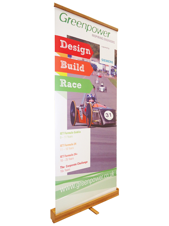 Eco-friendly Banner Stand