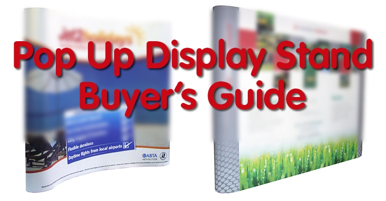 Pop Up Display Stand Buyer's Guide