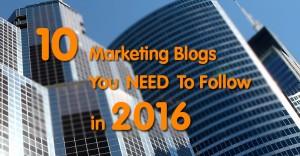 Best UK marketing blogs 2016