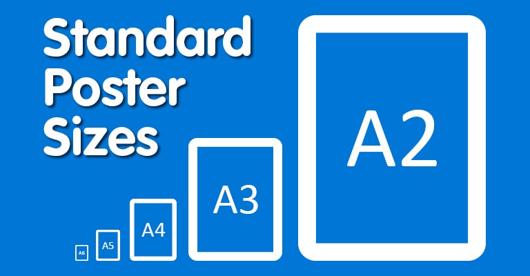 Standard Poster Sizes
