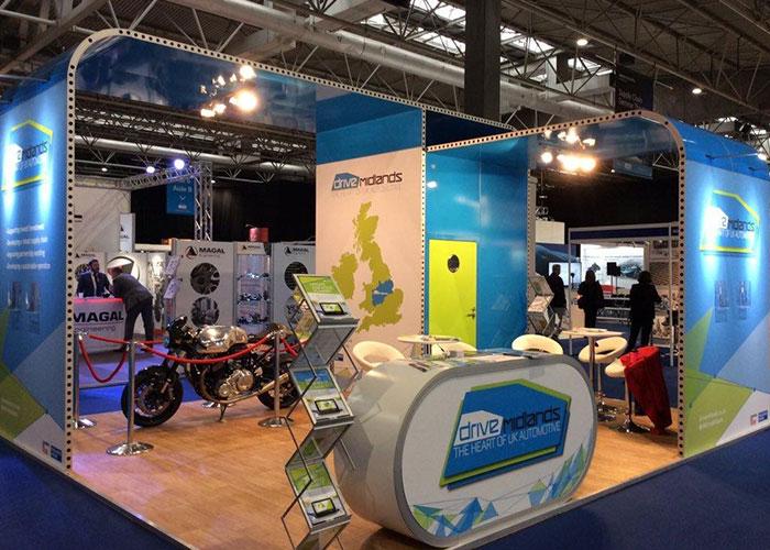motorbike exhibition stand