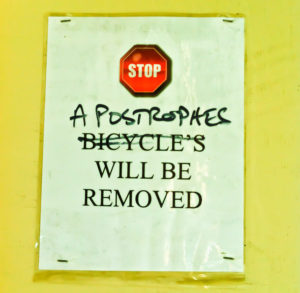 Apostrophe Errors