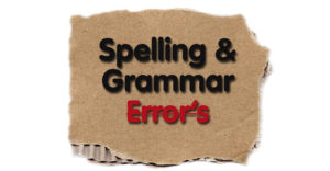 Print Marketing Spelling Grammar Errors