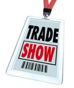 Trade show badge